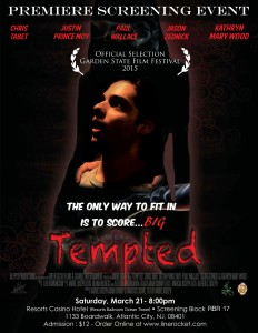 Tempted Film Promo Poster