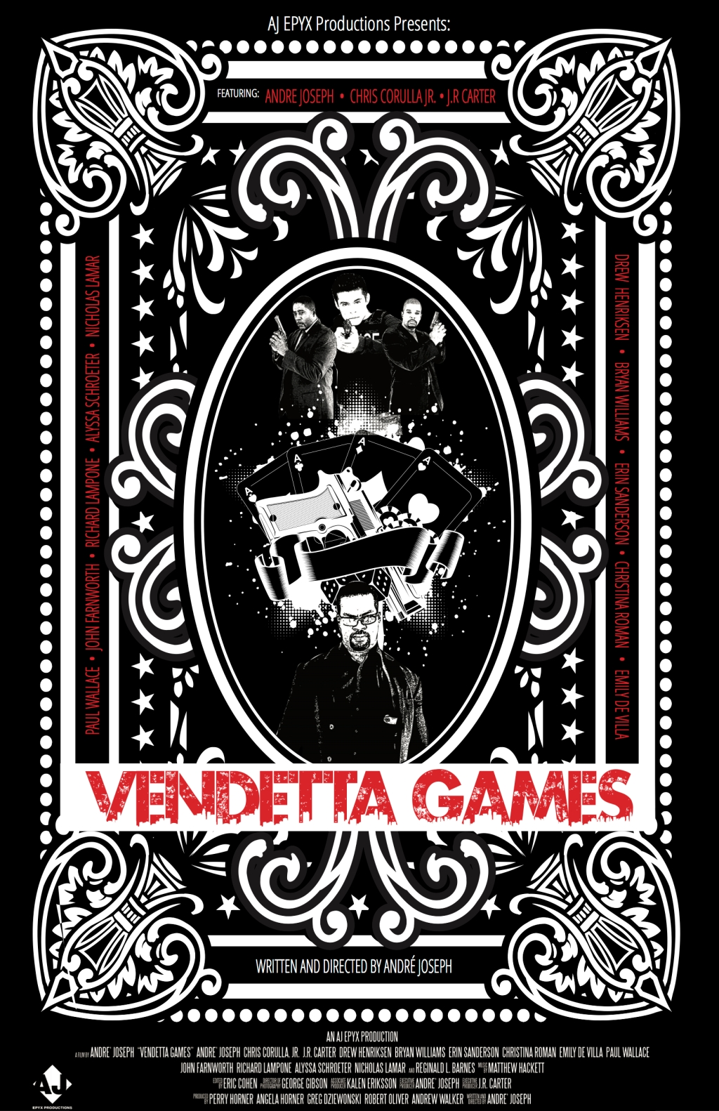 Vendetta Games Poster 2 copy