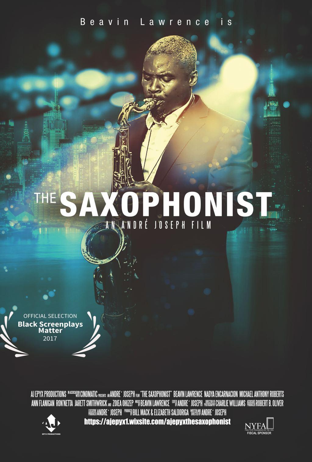 Sax Final Poster