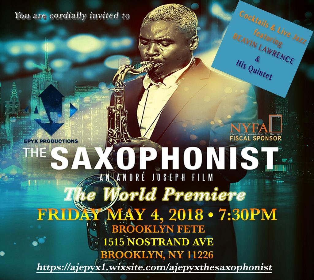 Sax Premiere Invite